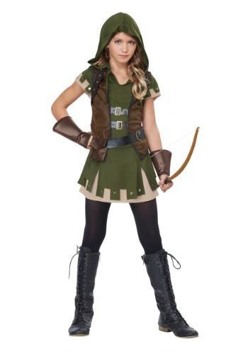 Disfraz para niña Miss Robin Hood