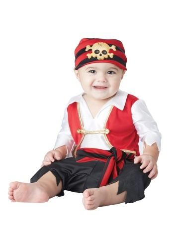 Disfraz infantil Pee Wee Pirata