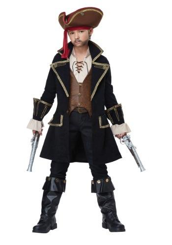 Disfraz infantil de Pirata Capitán deluxe