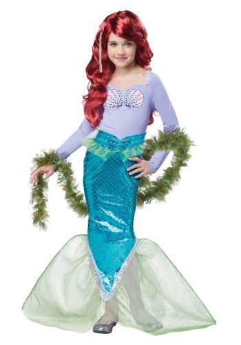 Disfraz de sirena mágica para niños