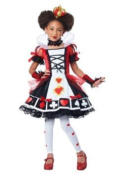 Disfraz infantil deluxe de Reina de Corazones