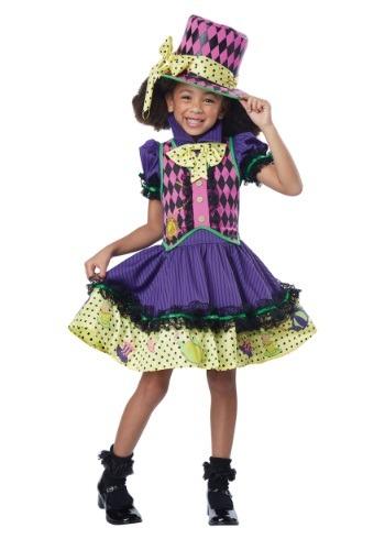 Disfraz infantil deluxe de Sombrerera Loca