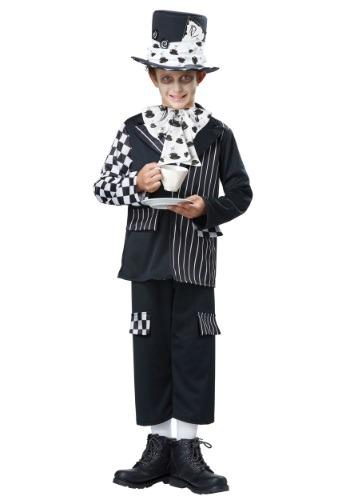 Disfraz infantil de Sombrerero Loco oscuro