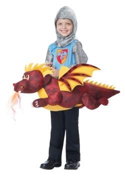 Disfraz infantil de monta un dragón