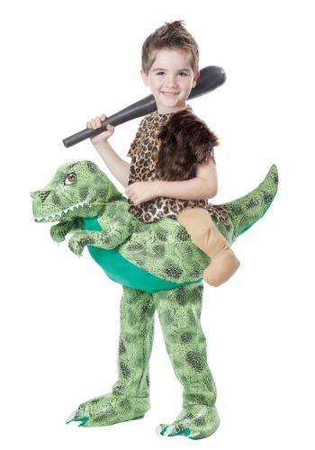 Disfraz infantil de monta un dinosaurio