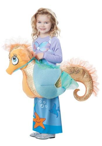 Disfraz infantil de monta un caballito de mar