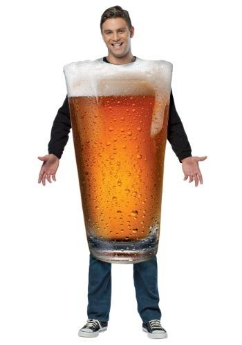 Disfraz de pinta de cerveza para adulto