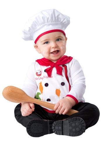 Disfraz de chef para bebé abrazos y quiches
