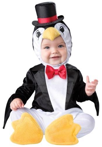 Disfraz de pingüino alegre para bebé