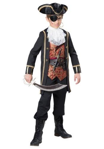 Disfraz de Capitán Scurvy para niño