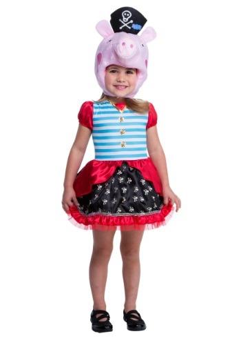 Disfraz de Peppa Pig pirata