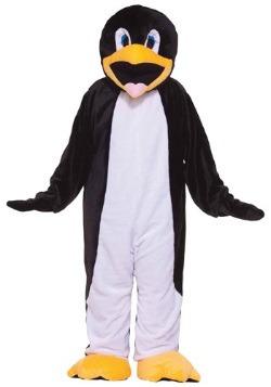 Disfraz de lujo de pingüino mascota