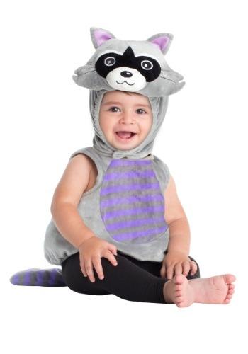 Disfraz de mapache para bebé