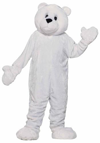 Disfraz de mascota oso polar