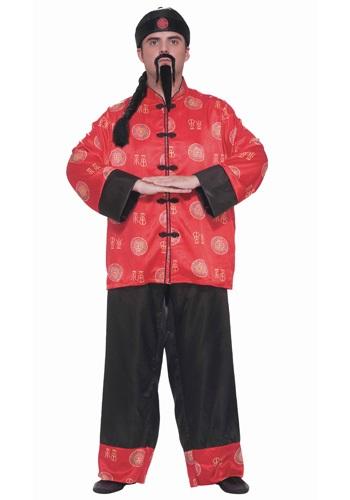 Disfraz de caballero chino