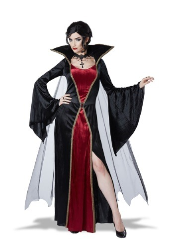 Disfraz de vampiro clásico para mujer
