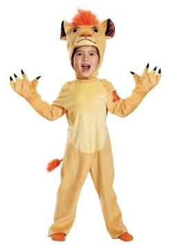 Disfraz Deluxe Lion Guard Kion para niños pequeños
