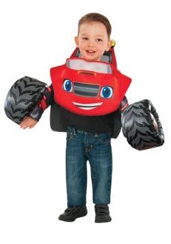 Toddler Blaze y el disfraz de Monster Machines