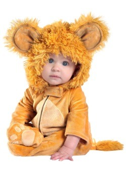 Disfraz de león infantil de Anne Geddes
