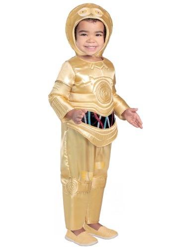 Disfraz de C-3PO para niños pequeños