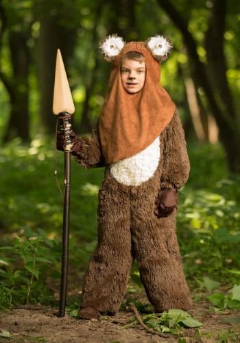 Disfraz infantil deluxe de Wicket/Ewok