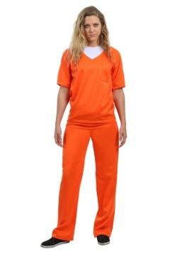 Disfraz para mujer de prisionera naranja