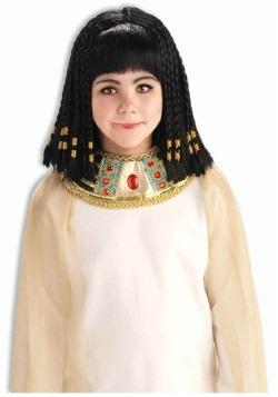 Peluca infantil de Reina del Nilo