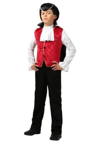 Disfraz de vampiro aterrador para niños
