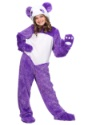 Disfraz de niña Panda Púrpura peluda