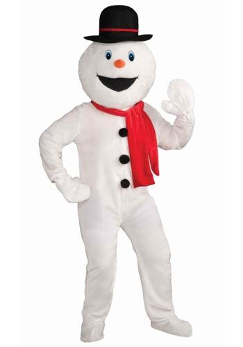 Disfraz de mascota muñeco de nieve