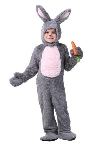 Disfraz de conejito gris para niños pequeños