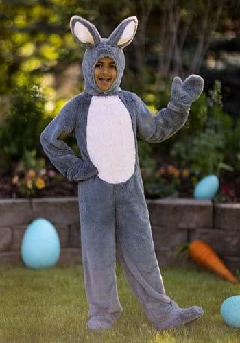 Disfraz infantil de conejito gris