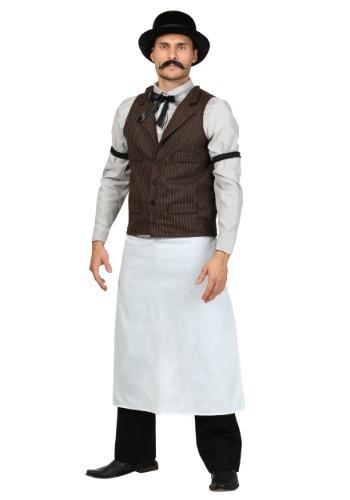 Disfraz de camarero del viejo oeste para adulto