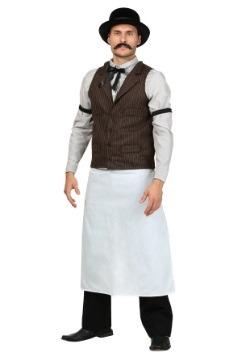 Disfraz de camarero del viejo oeste talla extra