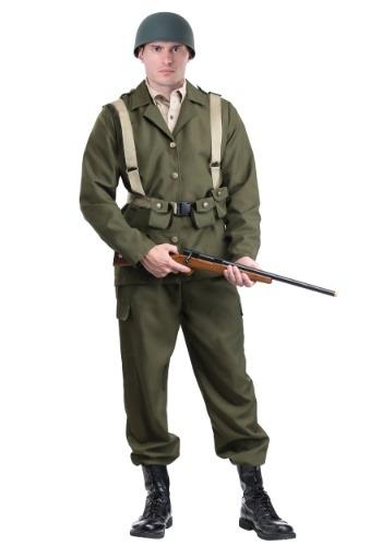 Disfraz de soldado de segunda guerra mundial