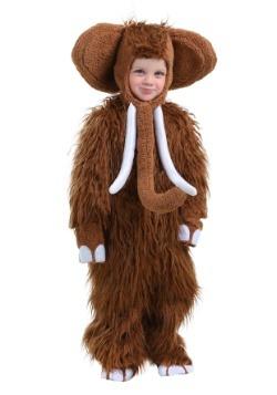 Disfraz de Mamut Woolly para niños pequeños