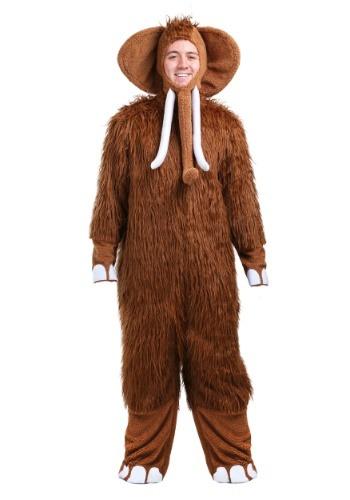 Disfraz de mamut lanoso para hombre