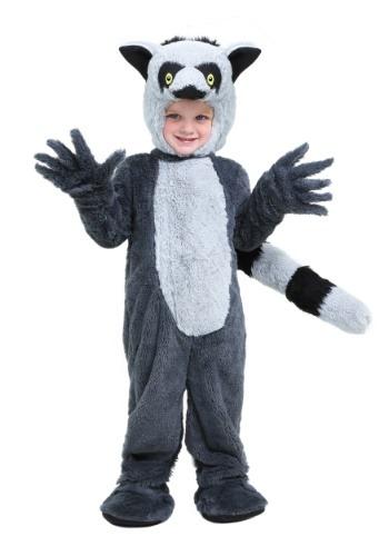 Disfraz de lemur para niños pequeños
