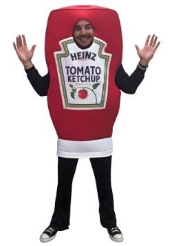 Disfraz de salsa catsup Heinz para adulto
