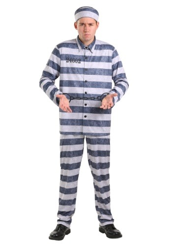 Disfraz de tamaño extra grande Vintage Prisoner para hombre