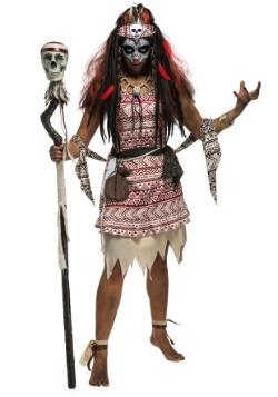 Disfraz de bruja vudú para mujer