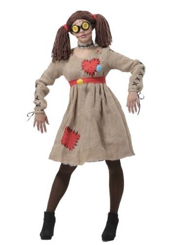 Disfraz de Muñeca vudú de arpillera