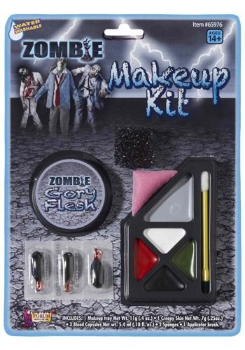 Kit de maquillaje zombi sangriento