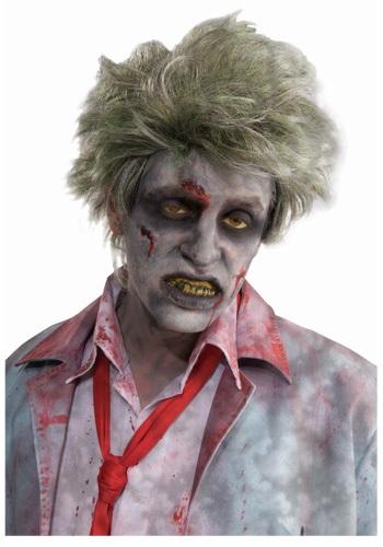 Peluca de zombi de la tumba
