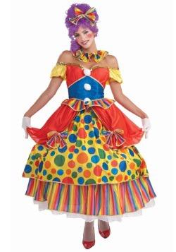 Disfraz de payaso Belle de Big Top Circus
