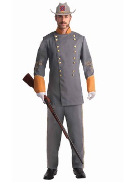 Disfraz de oficial confederado adulto