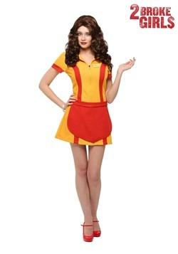 Disfraz de camarera más el tamaño de dos Broke Girls