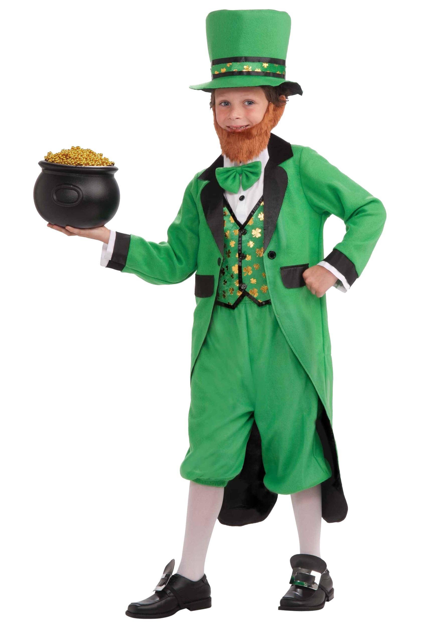 2be69b840 Disfraz infantil de duende Leprechaun