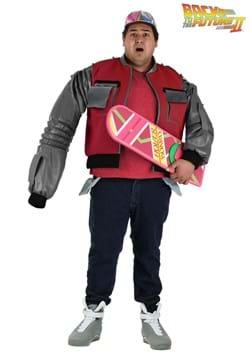 Chaqueta Marty McFly auténtica talla grande para hombre