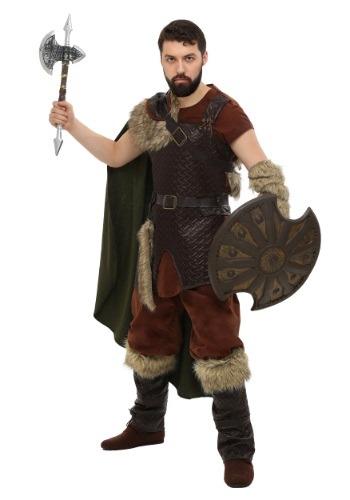 Disfraz de vikingo nórdico talla extra
